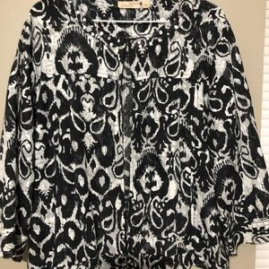 Choices Black and white cardigan